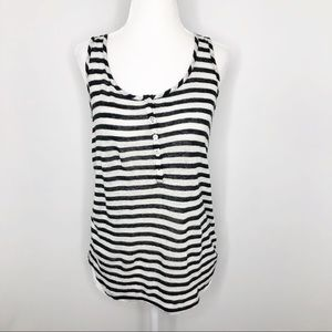 J. Crew Collection | Striped Linen Tank